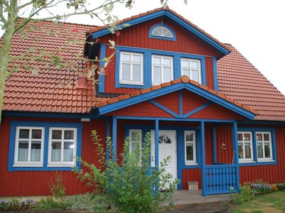 Photo for Holiday home at the edge Bullerbue Südheide Nature Park (Sweden House) Family Friendly