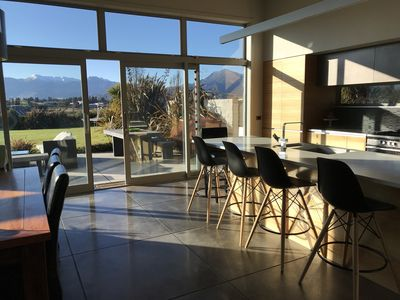 Photo for Modern, spacious home on one acre in town. Stunning views within a quiet space.