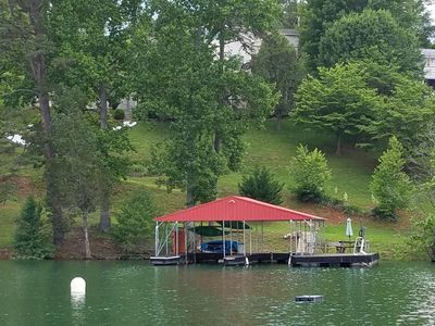 Photo for Grand Escape at Springs Dock on Norris Lake - 2 Prime weeks left 6/9, 8/3