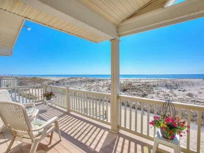 Photo for Southend - Beachfront with panoramic ocean views!! 1 PRIME week OPEN: July 6th