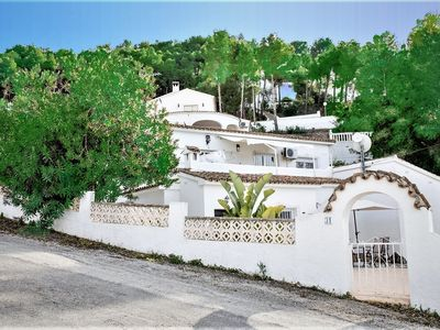 Photo for Apartment in Moraira with private garden