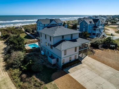 Photo for Duck Dreams | Oceanfront | Private Pool, Hot Tub, Dog Friendly | Duck