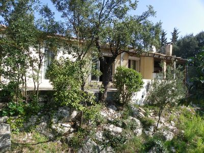 Photo for Beautiful house T4 with swimming pool between Cévennes and Montpellier 30 minutes from the sea