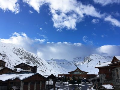 Photo for SKI PASS OFFER SKIS FOOT AT / D 2 ROOMS PARKING