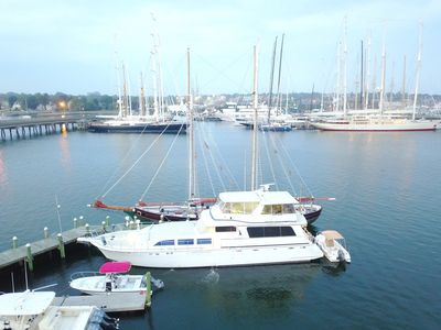 Photo for BEST VALUE! RATED AS NEWPORT'S #1 B & B & HOTEL. RENT 1, 2 or 3 YACHT STATEROOMS