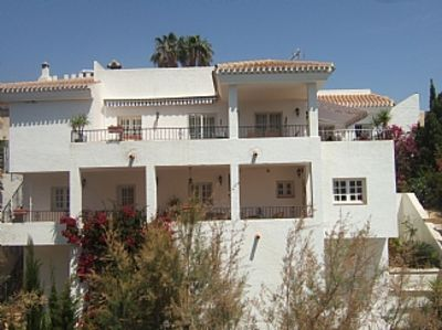 Photo for Villa With Private Pool & Wonderful Sea Views, Large pool ,10% discount 1 4+days