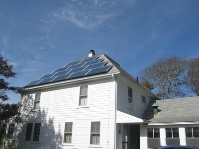 Solar Power for a guilt free vacation. Energy efficient, pollution free power