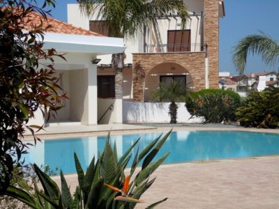 Photo for ALEXANDRA VILLA - 4 BED WITH SHARED POOL IN IDYLLIC AYIA THEKLA