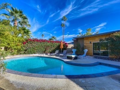 Photo for Gorgeous Mid-century Palm Springs Pool Home!