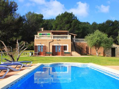 Photo for Country house with pool in Cala Rajada