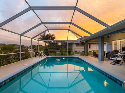 Photo for Heated Pool with luxurious Southern Exposure - Villa Halcyon Days - Roelens Vacations