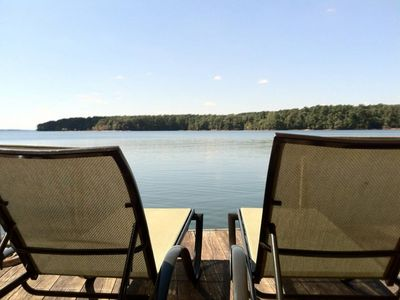 Photo for Lake Hartwell Waterfront Big Water area w/ Boat Dock - quiet, peaceful