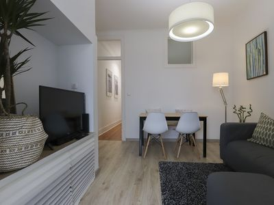 Photo for 3 room apartment near Alameda with washing machine