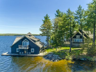 Photo for Fabulous Lake Muskoka Cottage & Boathouse~the perfect retreat!