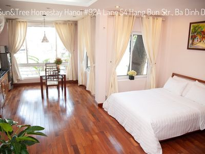 Photo for Deluxe room 4 - Sun&Tree Homestay Hanoi