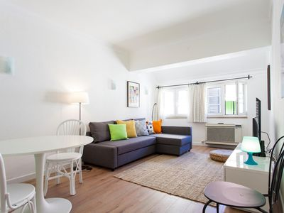 Photo for Charming Cascais apartment in Cascais with WiFi & air conditioning.