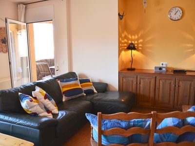 Photo for Lovely apartment in Begur centre with lift, rooftop pool and private parking