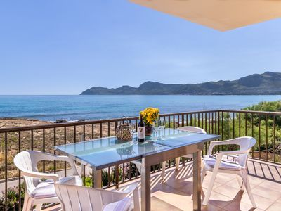 Photo for Mallorca Beach front line house 6 pers