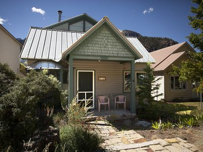 Photo for Heart of Ouray - Walk to Downtown - Garden Cottage