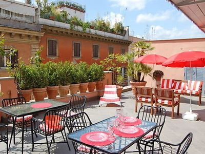 Photo for Apartment Dolce Vita Luxury Terrace in Roma: Centro Storico - 6 persons, 3 bedrooms