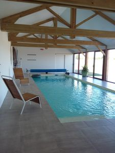 Photo for EASTER HOLIDAY 1500 € WEEK INDOOR SWIMMING POOL 10 PEOPLE