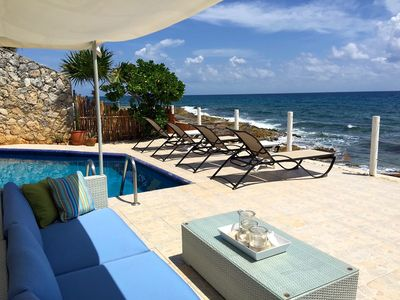 Photo for Luxurious Top Rated 4/4 OCEANFRONT Villa, OMNI Resort Passes and Gourmet Chef