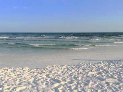 Photo for Beautiful 2BR/2BA Gulf View Condo with Beach Setup and Great Pool