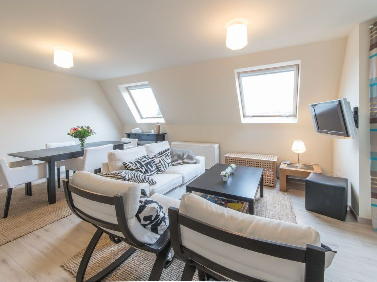 Apartment Zen Aan Zee In De Haan Coast  Bedrooms