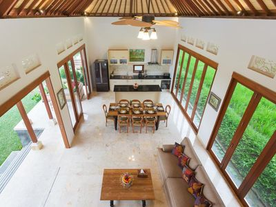 Photo for Among the Rice Fields of Ubud - 2BR - 7 People
