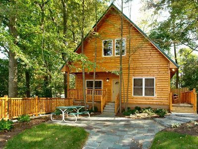 Photo for Downtown 2BR Cabin Steps Away from Parkway and Close to Attractions*