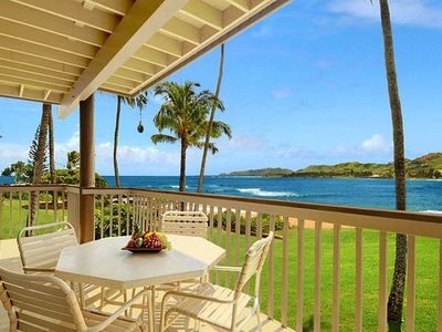 Photo for Exceptional, Beachfront Condo on Kauai's Coconut Coast