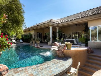 Photo for Luxurious Tuscan Dream Home In Private Setting, 15 Minutes From Las Vegas Strip.