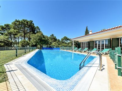 Photo for Nice Villa within Golf Resort, massive 18 meter Pool , next to Fantastic Beaches
