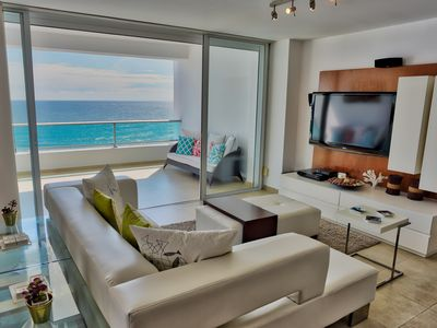 Photo for Extraordinary Ocean View Three Bedrooms Apartment (822)