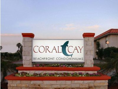 Photo for Tropical getaway on the best beach in Texas at CORAL CAY! #