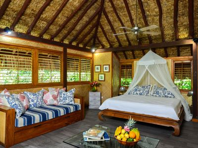 Photo for Te Nunoa Private Garden Bungalow:  Style, Comfort & Seclusion