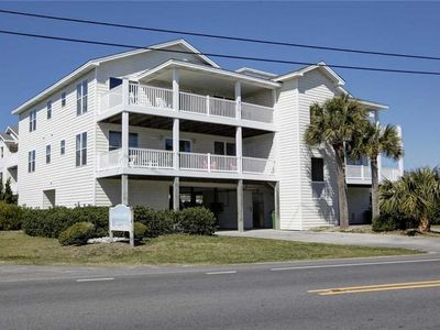 Photo for Belle's Porch: 3 bedroom condo, Oceanview - Second Row with Ocean Views, Large Kitchen, Huge Porch!