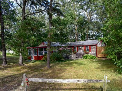 Photo for Telegraph Rd 56- Affordable vacation cottage on large private wooden lot