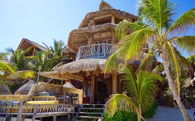 Photo for Beachfront Luxury Home; Heart of REAL Tulum