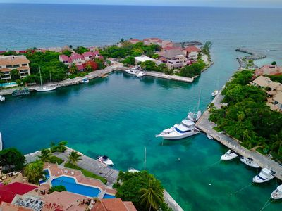 Photo for Riviera Maya Waterfront/OceanView Luxury 2 Bedroom/2 bath Penthouse w/Rooftop