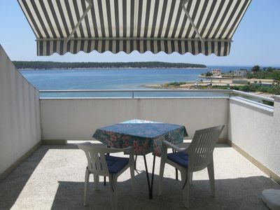 Photo for Holiday apartment far from the sea with terrace and sea view