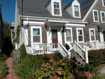 Photo for Your own front porch, backyard & sandy beach  -East End Gallery District: $12