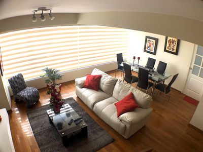Photo for LOOK !!!! This beautiful and spacious duplex in Miraflores * fully equipped *
