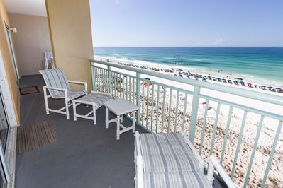 Okaloosa Island  - View from your very own private balcony.