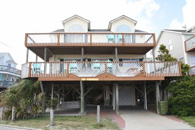 Oceanfront E10, corner lot, 2 entrances