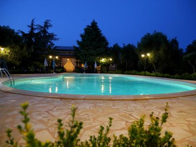 Photo for LUXURY villa with swimming pool, olive grove and tennis / football pitch all for exclusive use
