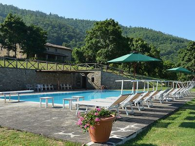 Photo for 6 bedroom Villa, sleeps 12 in Felcino Nero with Pool, Air Con and WiFi
