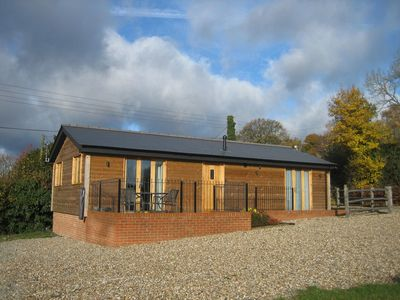 Photo for Beautifull log cabin set on a working farm in the heart of the Kent Countryside