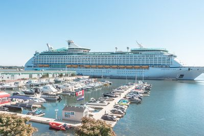 Cruise Ships on the Dock