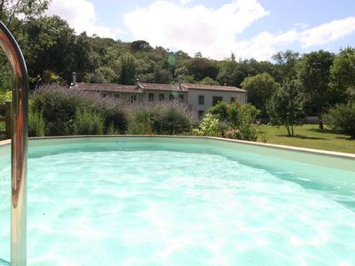 Photo for Comfortable and spacious cottages with pool for 6p (Bergerie) and/or 8p (Maison)